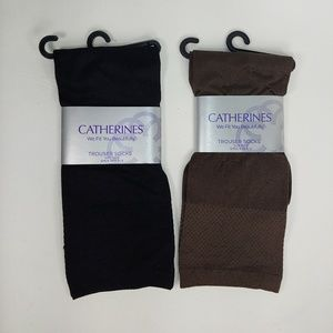 Catherines Womens Trouser Socks